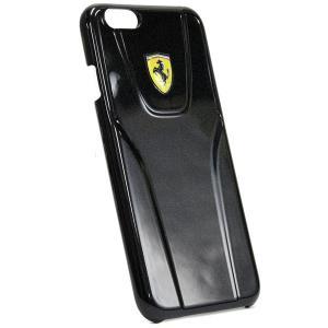 フェラーリ純正 iPhone6/6s 背面ケース-3D/ブラック-|itazatsu