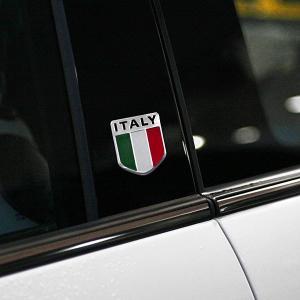 イタリア国旗アルミプレート|itazatsu