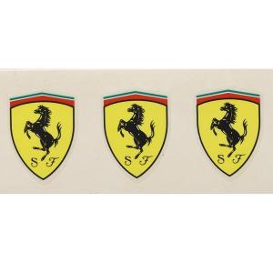 フェラーリ純正 Scuderia Ferrariスモールステッカー3枚セット|itazatsu