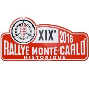 Rally Monte Carlo Historique 2016オフィシャルメタルプレート(Large)|itazatsu