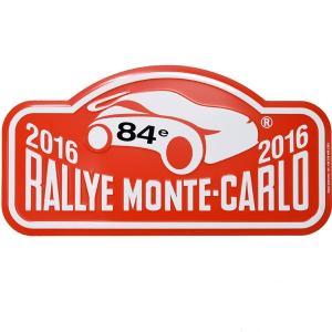 Rally Monte Carlo 2016オフィシャルメタルプレート(Large)|itazatsu
