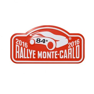 Rally Monte Carlo 2016オフィシャルメタルプレート(Small)|itazatsu