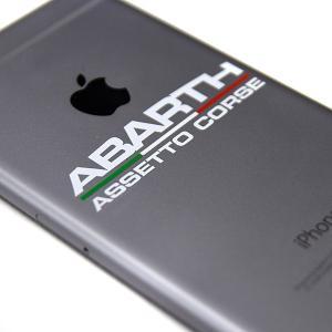 アバルト ABARTH ASSETTO CORSEロゴステッカー XS|itazatsu