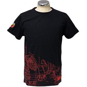 アバルト純正 Tシャツ(テクニカルパーツ/ギア)ブラック|itazatsu