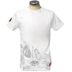 アバルト純正 Tシャツ(テクニカルパーツ/ギア)ホワイト|itazatsu