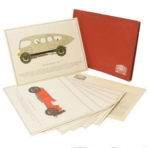 アルファロメオ純正 60周年記念イラストレーションカードセット|itazatsu