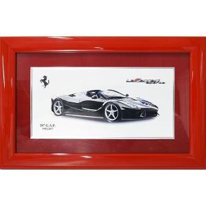 フェラーリ純正G.A.F.25周年メモリアル額装-Ferrari70周年記念バージョン-|itazatsu