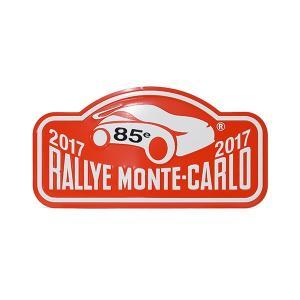 Rally Monte Carlo 2017オフィシャルメタルプレート(Small)|itazatsu