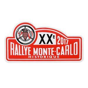 Rally Monte Carlo Historique 2017オフィシャルステッカー|itazatsu