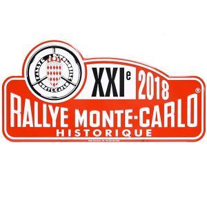 Rally Monte Carlo Historique2018オフィシャルメタルプレート(Large)|itazatsu