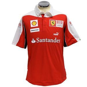 スクーデリア フェラーリ 2010ドライバー用ポロシャツ(シーズン後半戦用) itazatsu