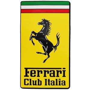 フェラーリ Ferrari Club Italiaエンブレムステッカー(XL)|itazatsu