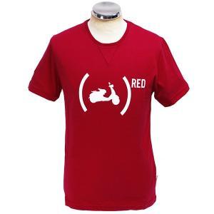 ベスパ オフィシャル Tシャツ-946 RED-|itazatsu