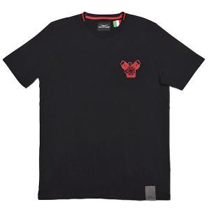 Moto GuzziオフィシャルTシャツ-CLASSIC-(ブラック)|itazatsu