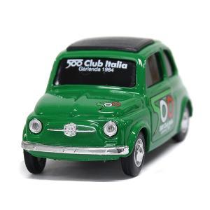1/43 フィアット Nuova 500ミニチュアモデル(グリーン) by FIAT 500 CLU...