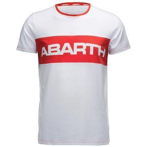 アバルト純正 Tシャツ-レッドストライプ-|itazatsu