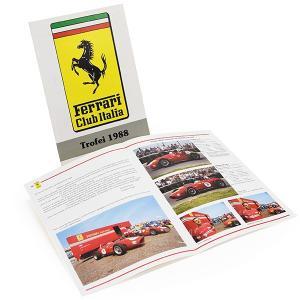 フェラーリ Ferrari Club Italiaミーティングパンフレット2冊セット|itazatsu