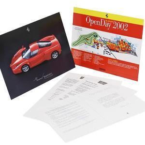 フェラーリ Ferrari Open Day2002社内マップ&パンフレットセット|itazatsu