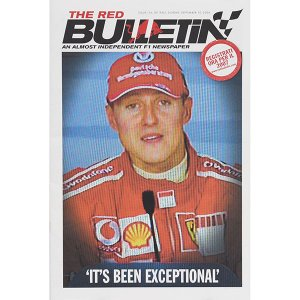 THE RED BULLETIN No.114 GP ITALY 2006|itazatsu