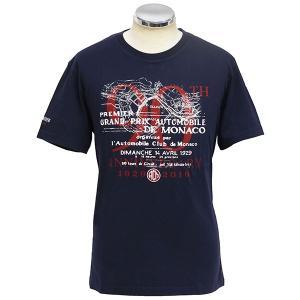 MONACO GRAND PRIX 2019 ACMオフィシャルTシャツ-90th ANNIVERSARY/ネイビー-|itazatsu