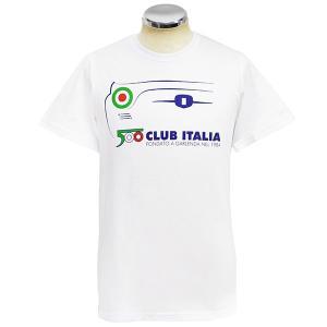 フィアット FIAT 500 CLUB ITALIA 2019ミーティングTシャツ|itazatsu