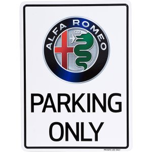 アルファロメオ Parking Onlyボード itazatsu