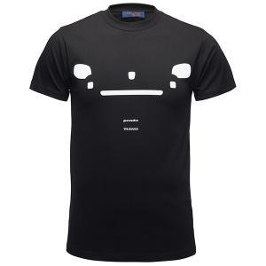 フィアット純正 Panda Trussardi Tシャツ(ブラック)|itazatsu