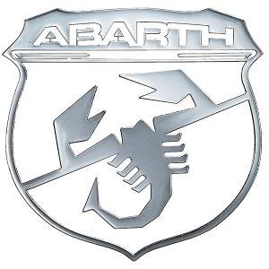 アバルト エンブレムメタルエッジングステッカー|itazatsu