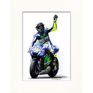 Valentino Rossi YAMAHA 2015 (YZR-M1)イラストレーションby 林部...