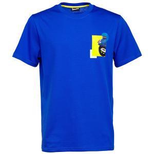 ベスパ オフィシャル Tシャツ-Heritage-(ブルー)|itazatsu