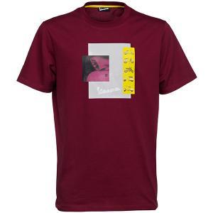 ベスパ オフィシャル Tシャツ-Heritage-(ボルドー)|itazatsu
