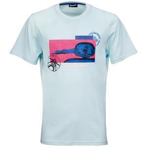 ベスパ オフィシャル Tシャツ-Heritage-(ライトブルー)|itazatsu