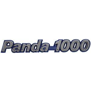 フィアット純正Panda 1000 ロゴエンブレム|itazatsu