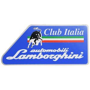 ランボルギーニ Club Italiaステッカー|itazatsu