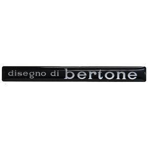 BERTONE 3Dステッカー|itazatsu