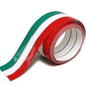 イタリア国旗カラーストライプデカール(50mm/5m)|itazatsu