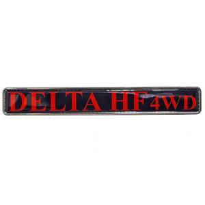ランチア DELTA HF 4WD リアゲート用エンブレムプレート|itazatsu