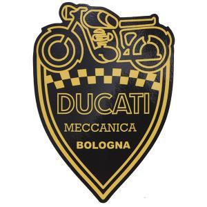 ドゥカティ純正 DUCATI MECCANICAステッカー (Large)|itazatsu
