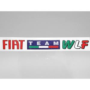 TEAM フィアット WLFロゴステッカー|itazatsu