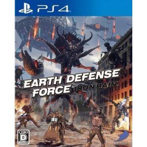 ◆送料無料・即日発送◆PS4 アース ディフェンス フォース:アイアン レイン EARTH DEFENSE FORCE:IRON RAIN EDF (特典衣装4点セット) 新品19/04/11|item-7749086