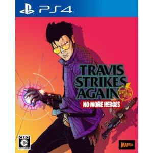 ◆送料無料・前日発送◆PS4 Travis Strikes Again: No More Heroes Complete Edition トラヴィス ストライクス アゲイン (特典ステッカー同梱) 予約19/10/17|item-7749086