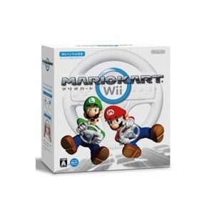 ◆送料無料・即日発送◆Wii ※マリオカートWii(Wiiハンドル同梱) 新品08/04/10|item-7749086