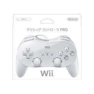 ◆送料無料・即日発送◆Wii ※PT Wii クラシックコントローラPRO シロ新品|item-7749086