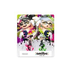 ◆送料無料・即日発送◆※PT WiiU/3DS amiibo (アミーボ) シオカラーズセット アオリ/ホタル (スプラトゥーンシリーズ) 新品16/07/07|item-7749086