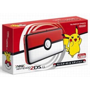 ◆送料無料・即日発送◆※3DS Newニンテンドー2DS LL 本体 モンスターボールエディション 新品17/11/17|item-7749086
