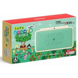 ◆送料無料・即日発送◆※3DS Newニンテンドー2DS LL とびだせ どうぶつの森 amiibo+パック 本体同梱版 新品18/07/19|item-7749086