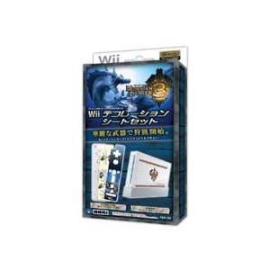 ◆送料無料・即日発送◆Wii PT Wii デコレーションシートセット モンスターハンター3新品|item-7749086