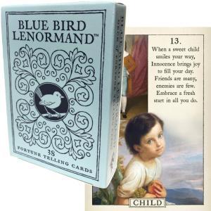 ルノルマン オラクルカード 占い ブルーバード・ルノルマンカード Blue Bird Lenormand 日本語解説書付き|item-island-jp2