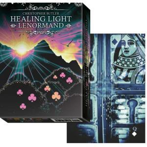 ルノルマン オラクルカード 占い ヒーリング ヒーリング ライト ルノルマン Healing Light Lenormand 日本語解説書付き|item-island-jp2