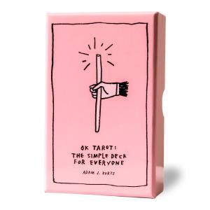タロットカード ライダー版 78枚 【OK タロット OK Tarot】 日本語解説書付き (正規品) 送料無料 ピンク かわいい 人気 ピンクカード